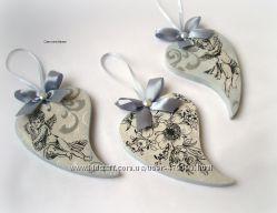 Декоративные подвески Сердца трёх