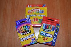 Восковые карандаши из США