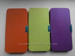 Чехол-книжка для iphone 5, 5s в наличии, 3 цвета