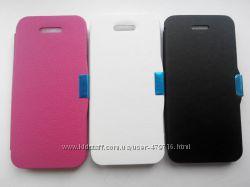 Распродажа чехлов-книжек для iphone 5, 5s в наличии, 2 цвета