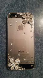 Очаровательный пластиковый чехол Цветок для iphone 4, 4S и 5, 5S в наличии