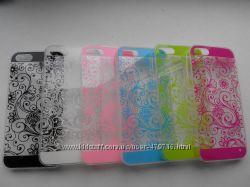 Распродажа тонких силиконовых чехлов для iphone 5, 5s в наличии