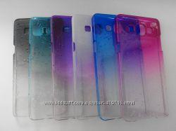 Пластиковый чехол Эффект дождя для Samsung Galaxy A5 в наличии