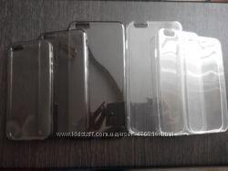 Прозрачные силиконовые чехлы для iphone 5, 5s, 6, 6s, 6, 6S Plus