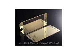 Комплект зеркальных защитных стекол для iPhone 5, 5s, 6, 6s