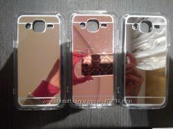 Зеркальный чехол для Samsung Galaxy A5, J5, A510, J510 в наличии