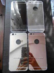 Зеркальный чехол для iPhone 55s, 66s, 66s Plus в наличии