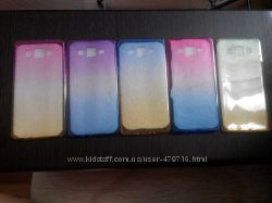 Cиликоновый чехол РАДУГА для Samsung Galaxy A5, А510, J510 2016 в наличии