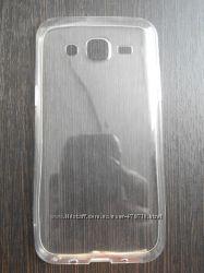 Прозрачный силиконовый чехол для Samsung Galaxy J5 в наличии