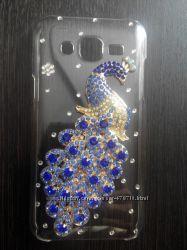 Пластиковый чехол Павлин для Samsung Galaxy J5 в наличии