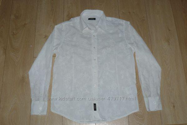 Стильная рубашка с вышивкой р. Л , состояние новой