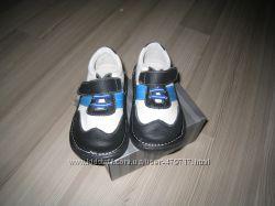 Стильные туфли из натуральной кожи  ст. 16 см