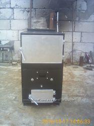 Самодельный пиролизный котел мощность 30 кВт.