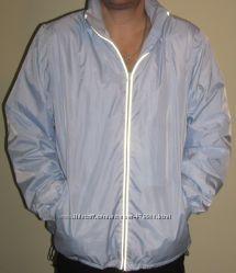 Куртка муж. , спорт. , на флисе, с капюш. , р. - XL