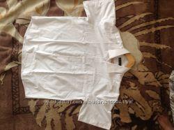 Продам белую праздничную рубашку