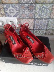 Кожаные туфли 38р. в отличном сосотоянии