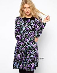 нежное платье с цветочным узором