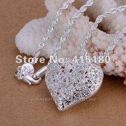 Сердечко 925 серебро