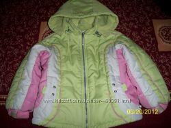 Теплая зимняя курточка на 3, 5-5лет