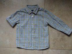 Рубашка -трансформер Zara 24-36 мес, 92-98р. , в идеальном состоянии
