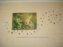 Бабочки - декор на стену