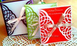 Изготовляю открытки, пригласительные, бонбоньерки