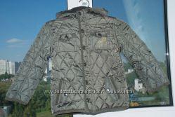 Демисезонная стеганная курточка F&F на девочку  и мальчика  5-6 лет 116 см
