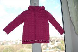 Демисезонная стеганная Topolino курточка на девочку 3-5лет 104, 116см