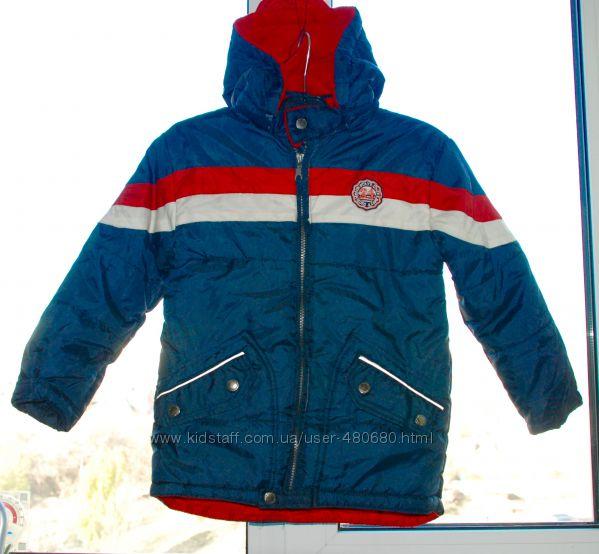 Деми курточка Okay р. 122 , 5-7 лет  Германия