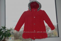 Деми куртка 98см 2-3 года фирма M&Co Отличное состояние