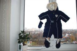 Зимний  пуховый термо-комбинезон Chicco  50  см