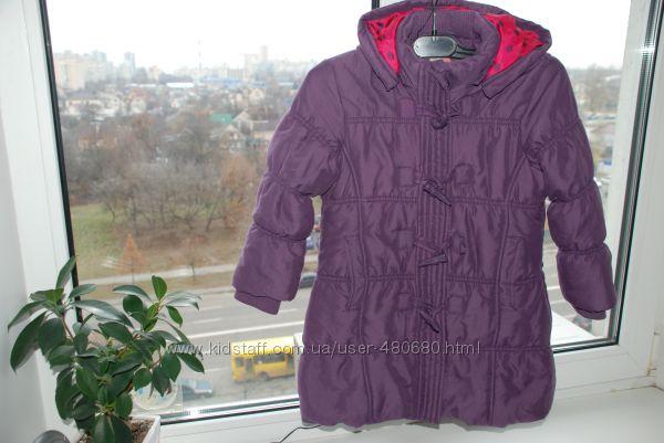 Деми куртка , размер 110-116 фирма  John Lewis girl