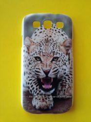 Чехол для Samsung Galaxy S3  Леопард