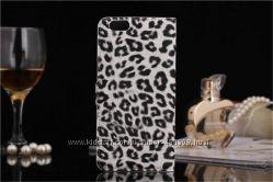 Чехол для Apple iPhone 6 леопард    пленка