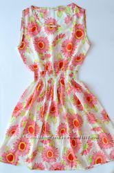 Платье летнее цветочное размер М