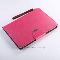 Чехол для Apple Ipad Air 2 и стилус розовый