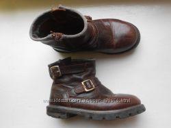 Кожаные ботинки на замках Skechers 25-27р-р