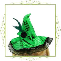 Шляпка ведьмочки на обруче