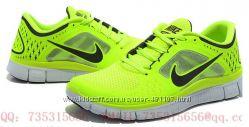 Кроссовки Nike free run 3 лимонный