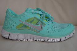 Кроссовки Nike free run 3 бирюзовый