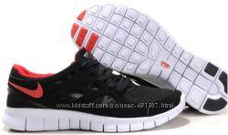 Кроссовки Nike free run 2 черно-красный
