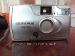 Фотоаппарат Olympus на плёнке