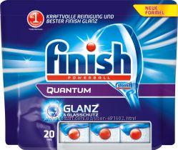 Таблетки для посудомоечных машин Calgonit Finish Quantum 20 tabs