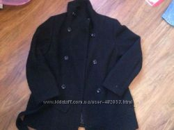 женское чёрное пальто размер 14 оригинал Calvin Klein