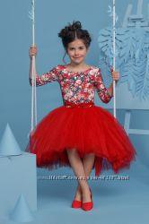 Шикарные нарядные платья для девочек рост 116-146см в наличии