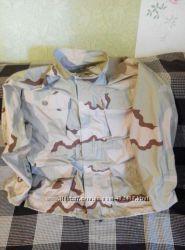 Куртка камуфляжная с капюшоном