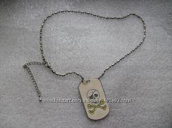 Тинейджеровская цепочка с подвеской Черепушка