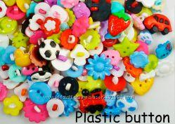 Яркие пуговки пластик часть2 10 видов