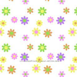 Фетр с рисунком Цветочки 10 видов