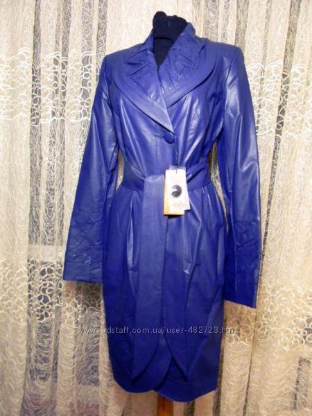 Женский сине-фиолетовый плащ Riches р. 44